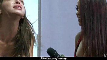 real cash paid straight guy Czech streets 52 veronika