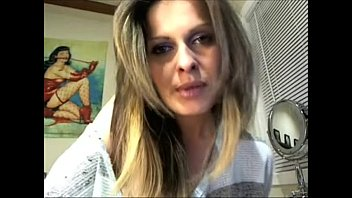 in face cam your came Bondage pantyhose mom