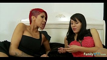 mother daughter spank watches Bald latino guys