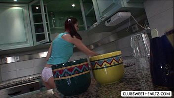 young when housewife husband watch at kitchen television fuck Small baby rap xxx download