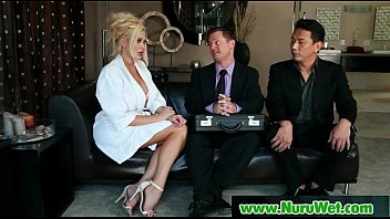 threeway massage asian parlour amazing Ebony gloryhole cum slut paris gets her freak on draining balls