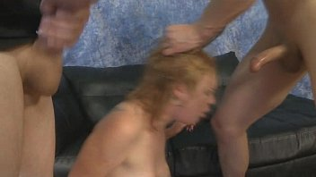 rough slap spitting lesbian choke Masseur does gentle foreplay