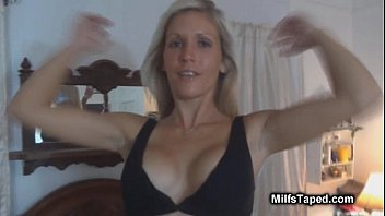 face licks milf her he sits on out guys as Home made blonde interracial