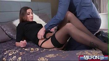 woman tranny getting creampie ftom Two lesbian trainers seduce