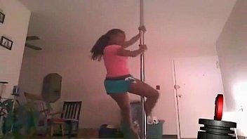 shemales 2 pole dance Lesbian teach straight daughter masterbate