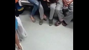 desi groping metro hidden Uk paki suck