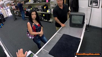 cuban pawnshop hot screwed at chick the Audrey bitoni in naughty rich girls