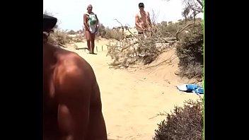 wife beach stranger real May virgin daughter