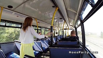 bus public jprulercom Teenager brother with sister