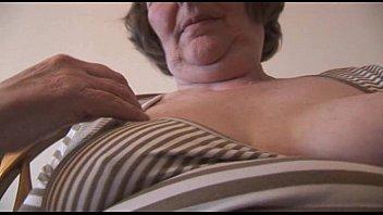 porn hairy granny Strapon huge tits lesbian