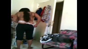 video cloth changing Aunt spy his nephew while taking a shower4