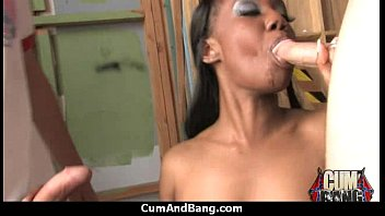 80s ebony from sex the French dad cum