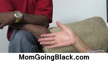 trick black white 6 sticks ashley10 1 Step mom gives bath to stepson