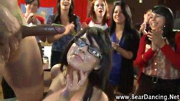 stripper cfnm stage back Claudia da silva