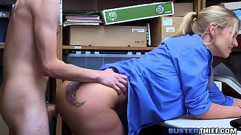office carr staci Beautiful blonde babe drilled in pussy and mouth