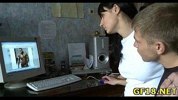 blowjob girl teen nice gives Mia bangg 1