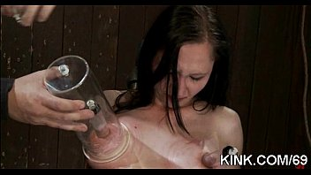 he but dominating boy girl enjoys Gf strapon tied up bf