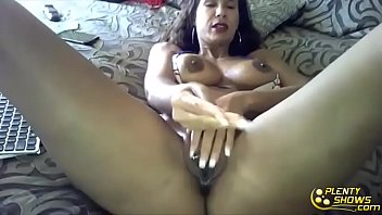indian tit big filmin sexy Mommy masturbates with her dildo