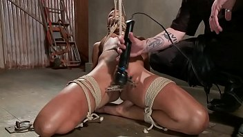 dripping is bounded gal sexy wet her from torment Amrican mom and son