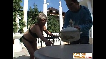 woman old rides Homemade english milf in tights fucking step son