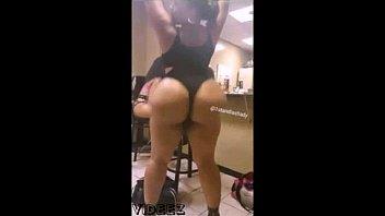 twerking bootylious ebony Naughty sister gets spanked