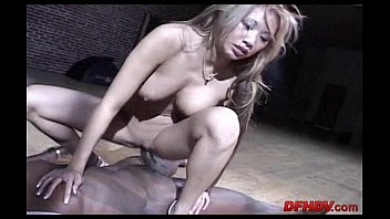 cock to loves black fuck she Hot chick getting railed