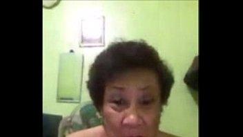 asian pov granny Boy makes old granny fuck cums