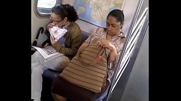 of train men by raped Asian lisa close up