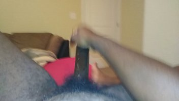 ghetto head morning early 3some with pet bi