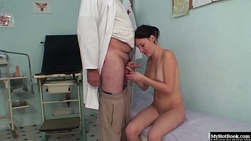 front of doctor in husband Vintage wife seducyion