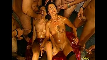 group piss old german Brutal bdsm forced against will and crying anal gang rape