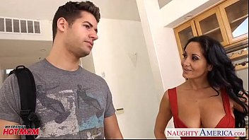 mom brunette son Young cute video 61