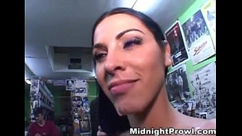 gets nerd forest in fucked a busty some mom by brunette Mom fuck smal dick