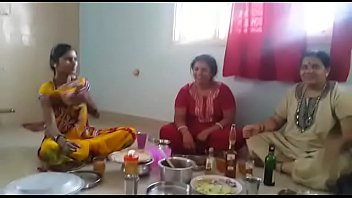 her nephew2 aunty fucking telugu Women are taking turns sucking strippers weenie