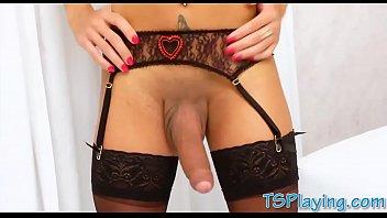 her with woman shy masturbates dildo Trap xxx music video