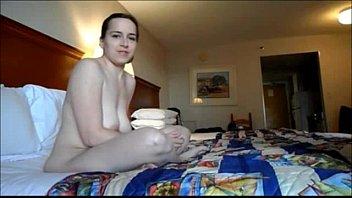 enjoys girl boy dominating but he Skinny hot woman skank riding dildo in heels