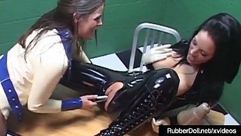 sack rubber bag inflate Girls scat and pissing videos