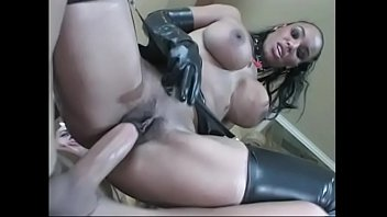 breast smothering big femdom Czeck lades gropingngered on the bed