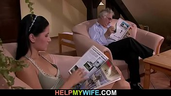 films woman with hubby his wife Ebony granny cam