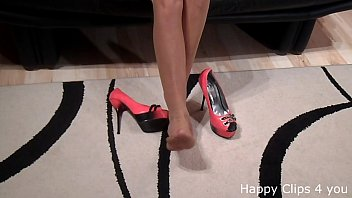 high heel kicks Love giving oral
