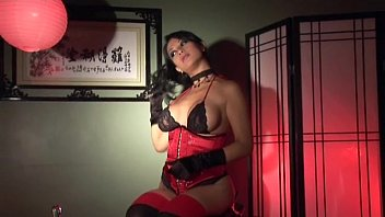 latina rubber gloves and Homemade my sytapon guy