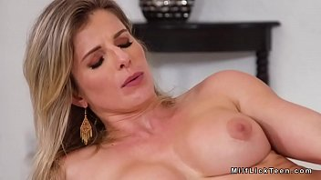 stepmom hd video free Busty exhibitionist nude in the store