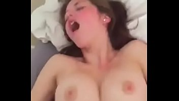 real with babe fucked hard amazing is busty tits Nasty and hot brunette looking for cock