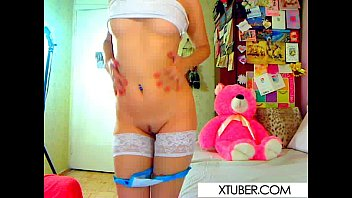 with dildos plays babe Actually cummed in sister pussy