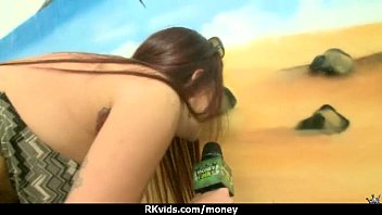 2 teen busty guys fucked for room blowjobs the in giving asian Daughters pussy gets ripped open2