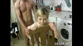 teens two lovely Esposa se masturba con una varanda