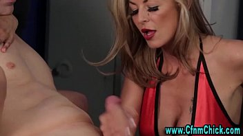 femdom handjob granny asian We both fucked her