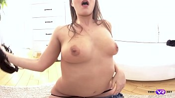 busty naughty the gets babe alyssa branch park in Japanese jogging get raped at the forest 2016
