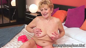 bus granny old grope Granny stocking solo