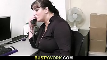 secretary boss films his homemade Friend stripped enf